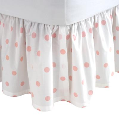 Full Dk. Pink Pastel Dots Skirt