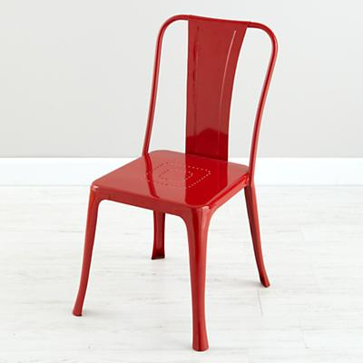 Iron Rich Play Chair (Red)