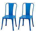Cobalt Set/2 Iron Rich Play Chairs