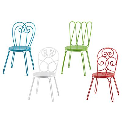 Set of Four Looking Glass Play Chairs (1 of each color)