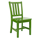Green Parker Play ChairFloor to Seat: 14&amp;quot; H