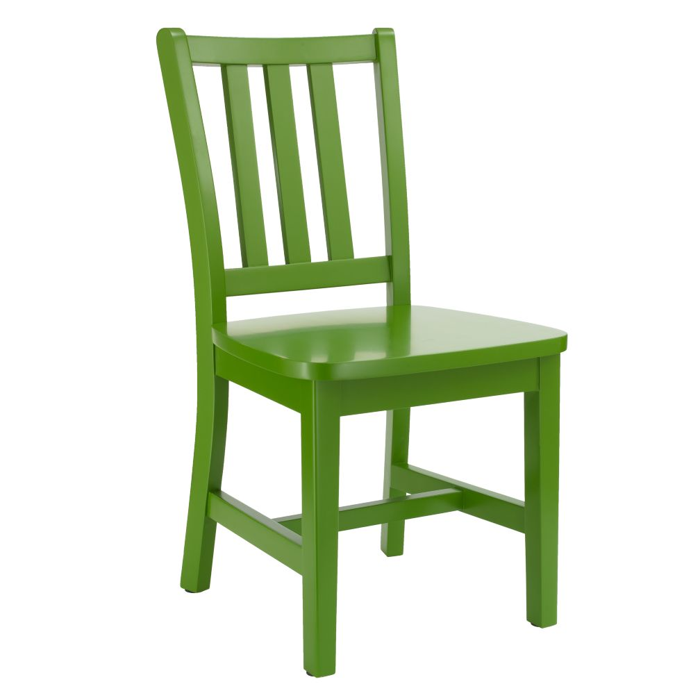 "Green Parker Play Chair<br />Floor to Seat: 14"" H <br/>"
