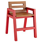 Red Teak Two-Tone Play Chair