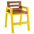 Yellow Teak Two-Tone Play Chair