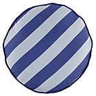 Blue Stripe Floor Cushion