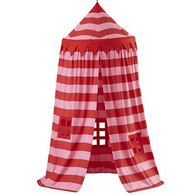 Home Sweet Play Home Canopy (Pink Stripe)