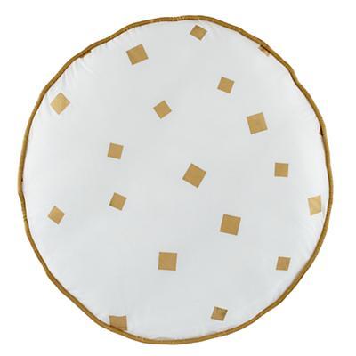 Gold Confetti Floor Cushion