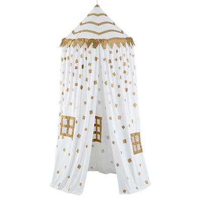 Home Sweet Play Home Canopy (Gold Confetti)