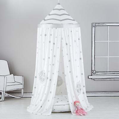Home Sweet Play Home Canopy (Silver Stars)