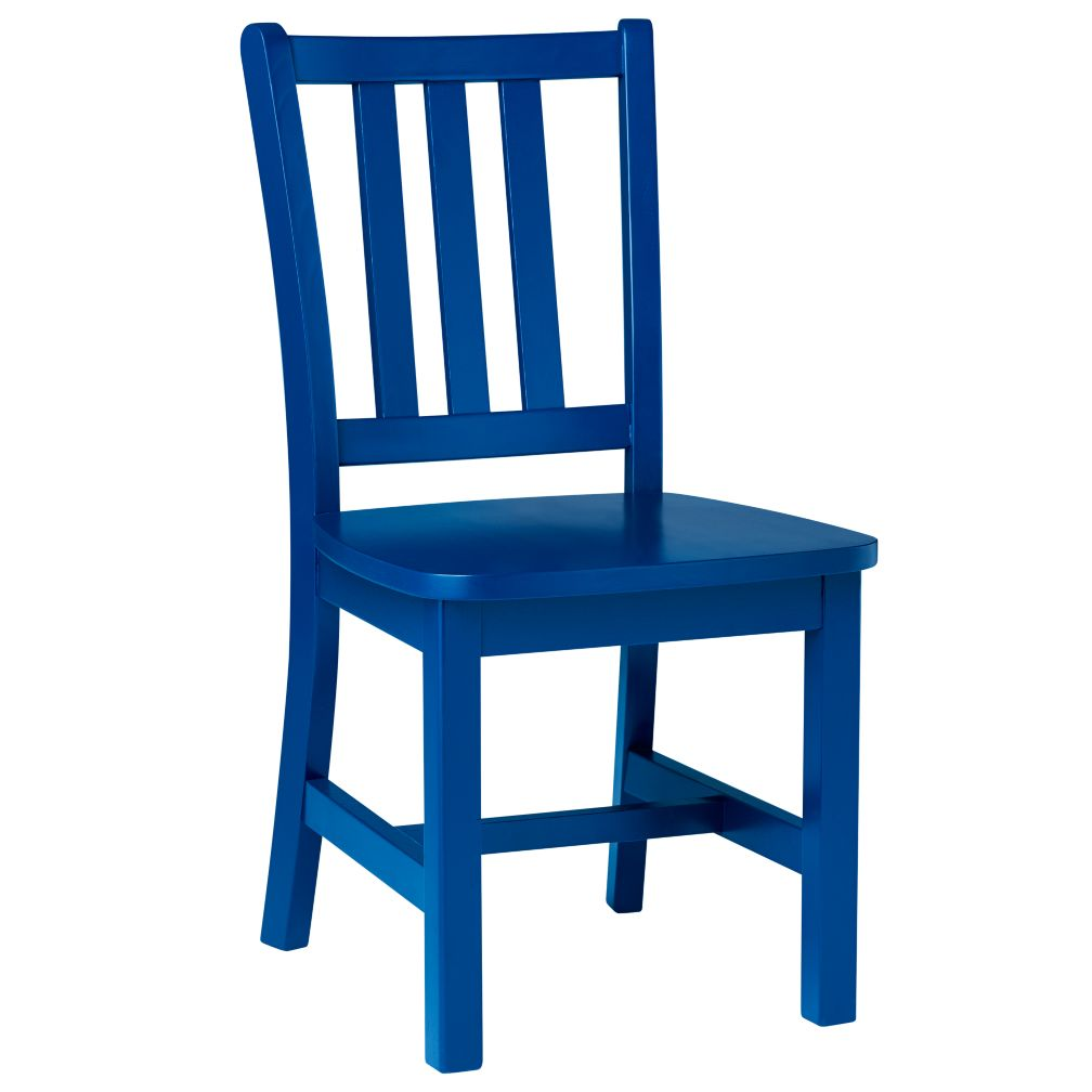 "Cobalt Blue Parker Play Chair<br />Floor to Seat: 14"" H <br/><br />"