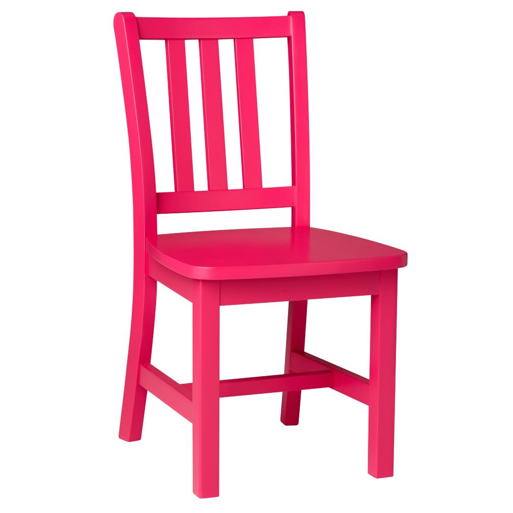 "Hot Pink Parker Play Chair<br />Floor to Seat: 14"" H <br/>"