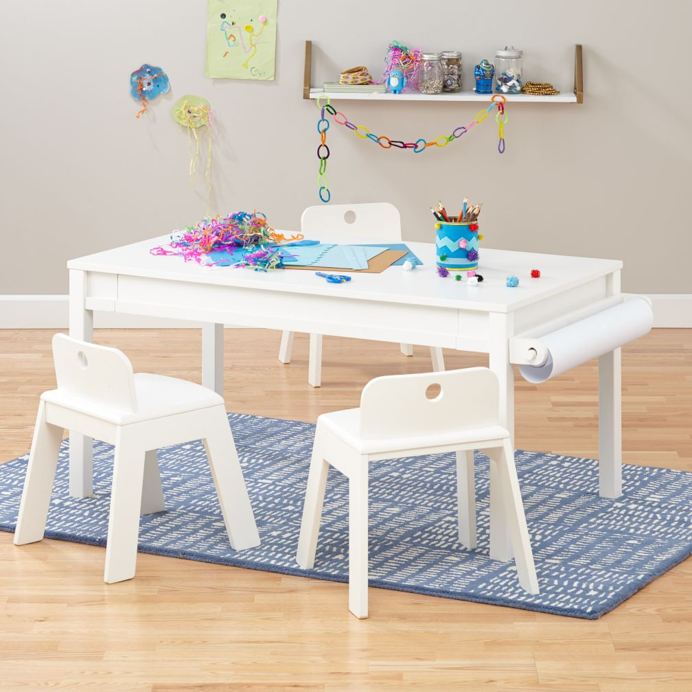 kids play tables activity tables the land of nod. Black Bedroom Furniture Sets. Home Design Ideas