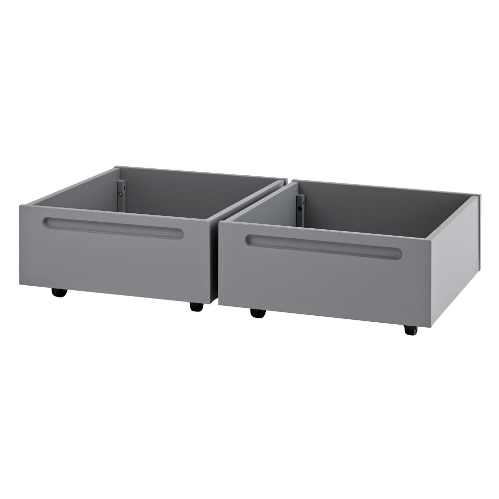 Set of 2 Extracurricular Play Table Bins (Grey)