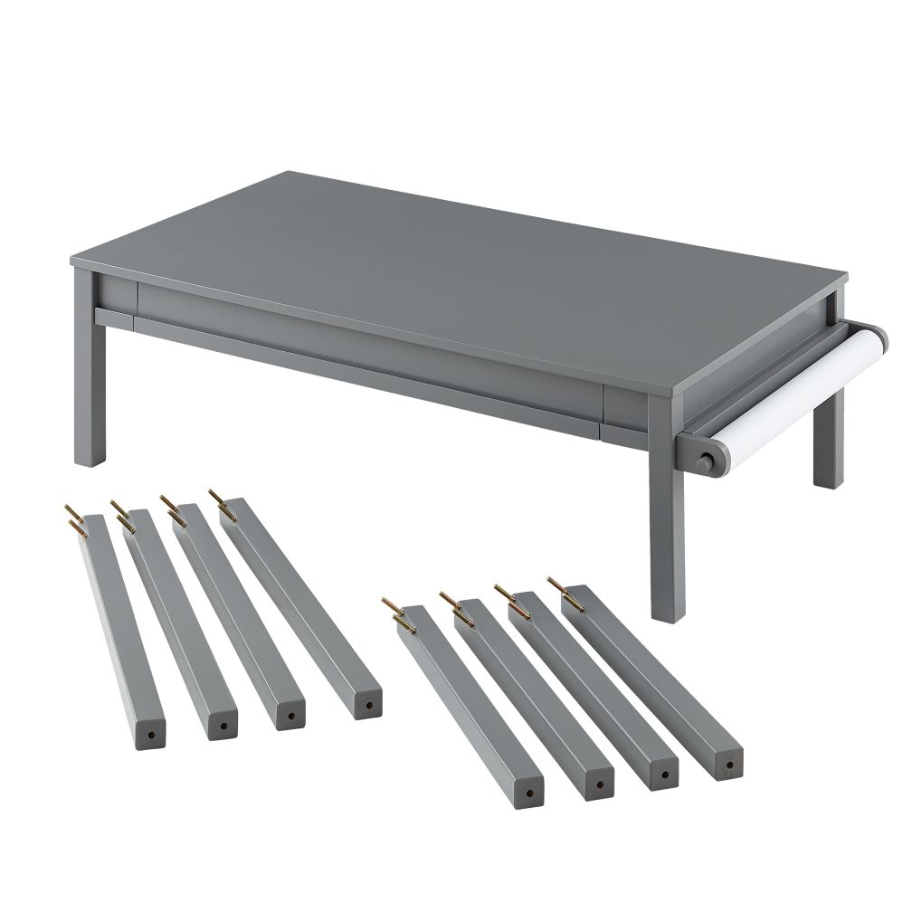 Extracurricular Complete Play Table Set (Grey)