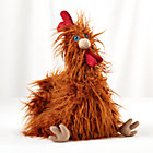 Red Fine Plush Friend Rooster