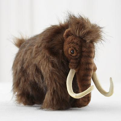 Plush Wooly Mammoth