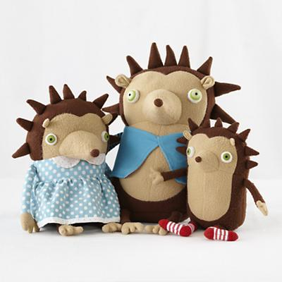 Plush_HedgeHog_Family