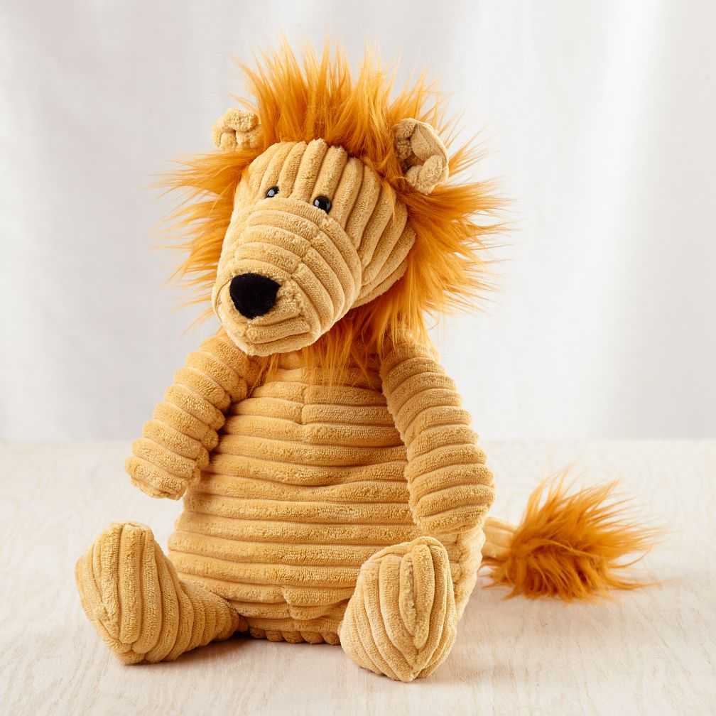 Corduroy Lion