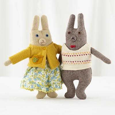 Plush_Kirschner_MrMrs_Bunny