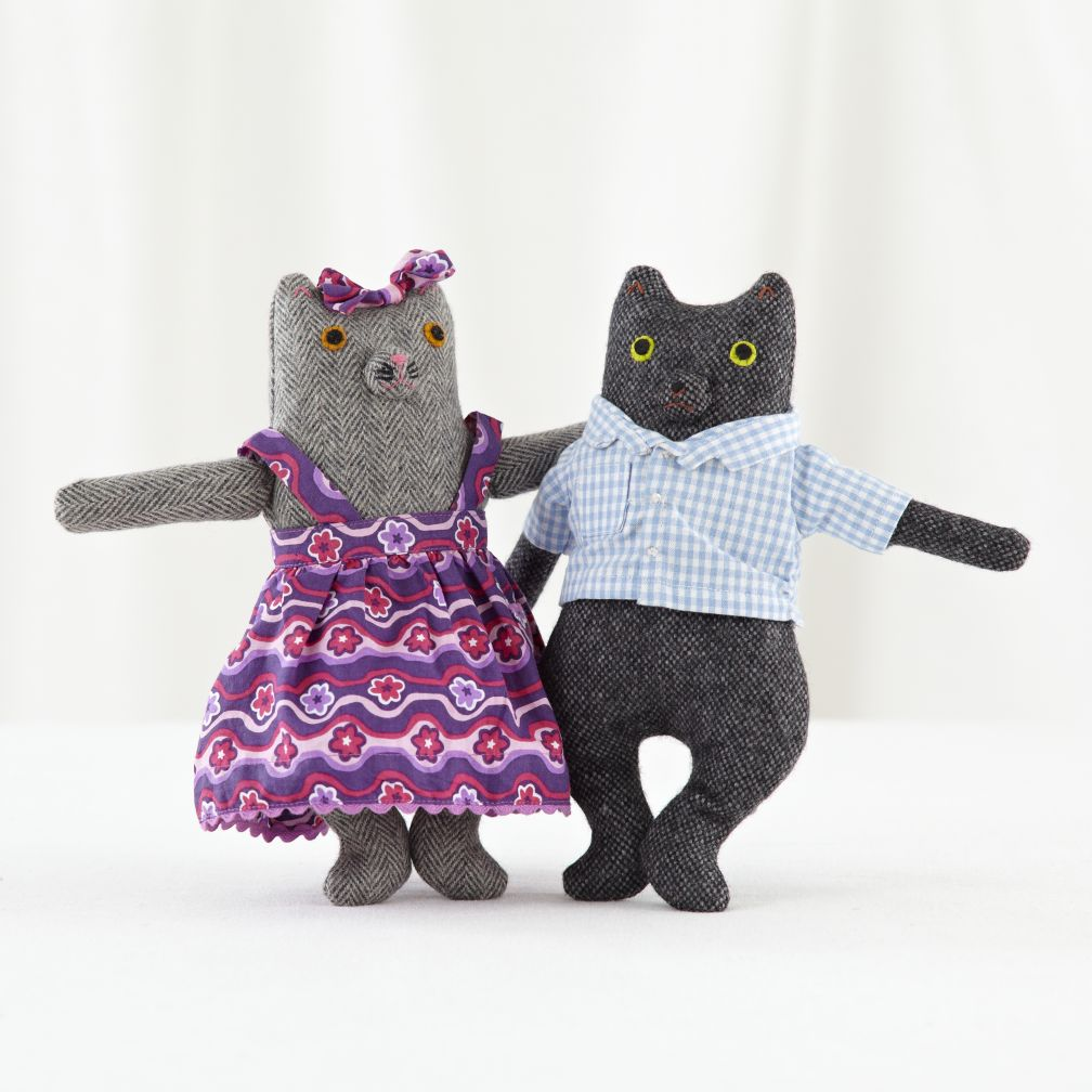 Mr and Mrs Kitty (Set of 2)