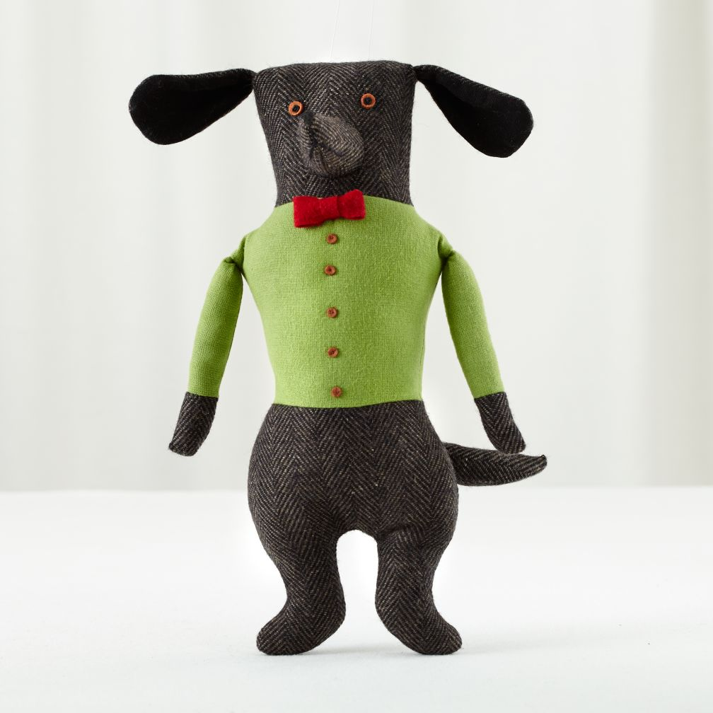 Plush Pooches (Grey Professor Dog)