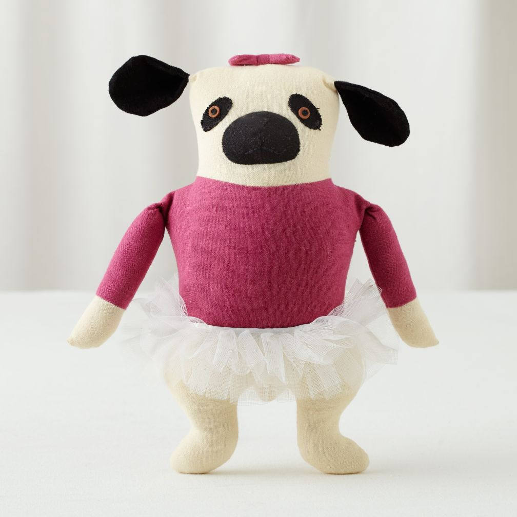 Plush Pooches (Pink Pug)