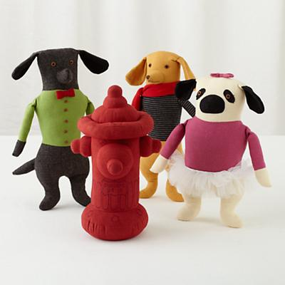 Plush_Mimi_Dogs_Hydrant_Group