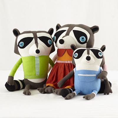 Plush_Raccoon_Family