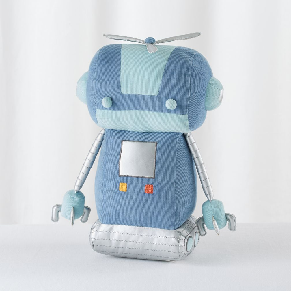 Plush-Bot (Blue)