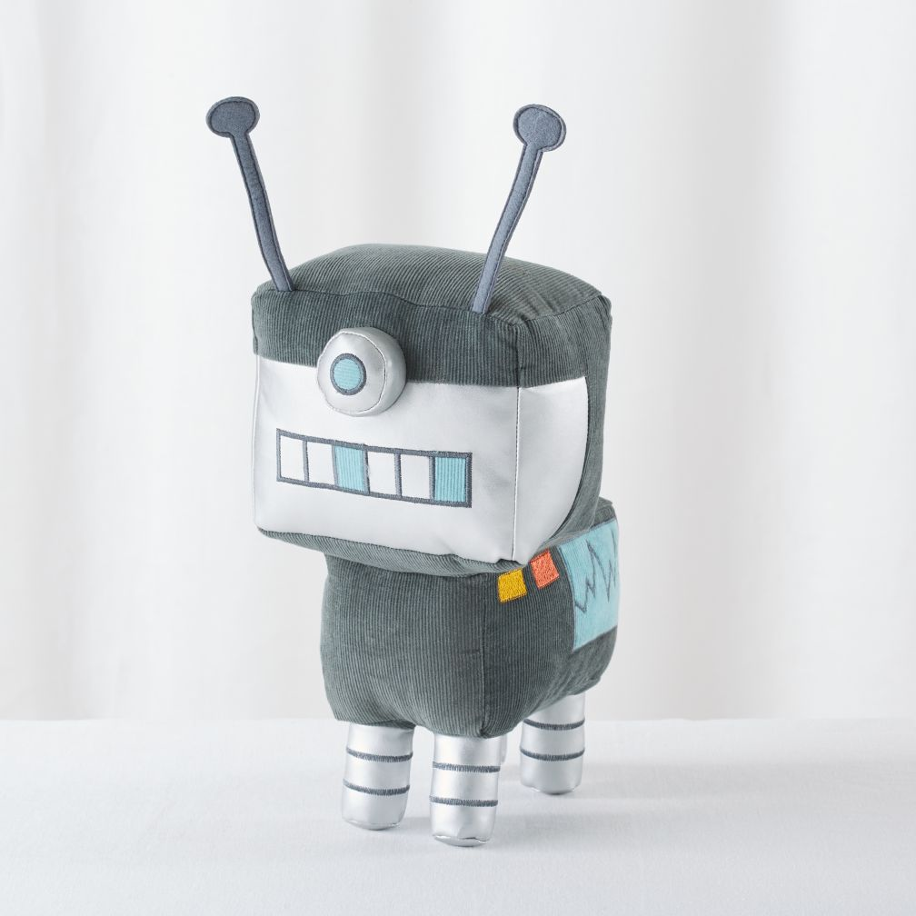 Plush-Bot (Grey)