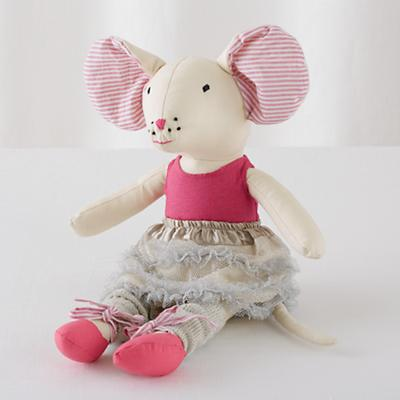 Teeny Dancer Ballerina Mouse