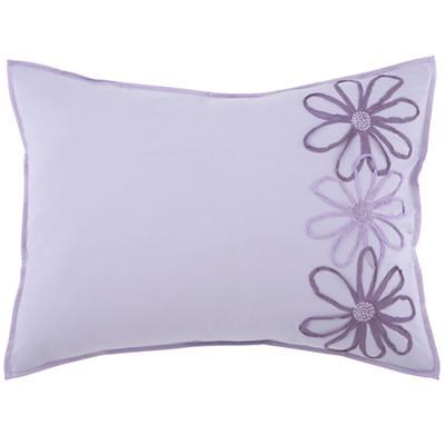 Lavender Flower Sham