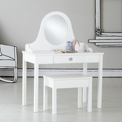 Debutante Vanity and Bench