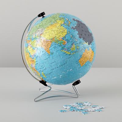 3D World Puzzleball