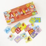 Learn to Read Alphabet Puzzle Pairs
