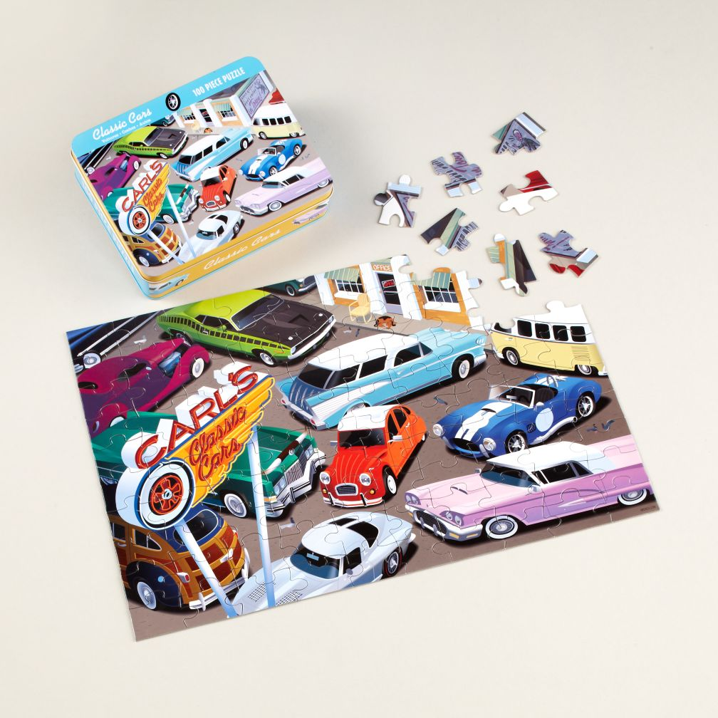 Classic Cars Puzzle