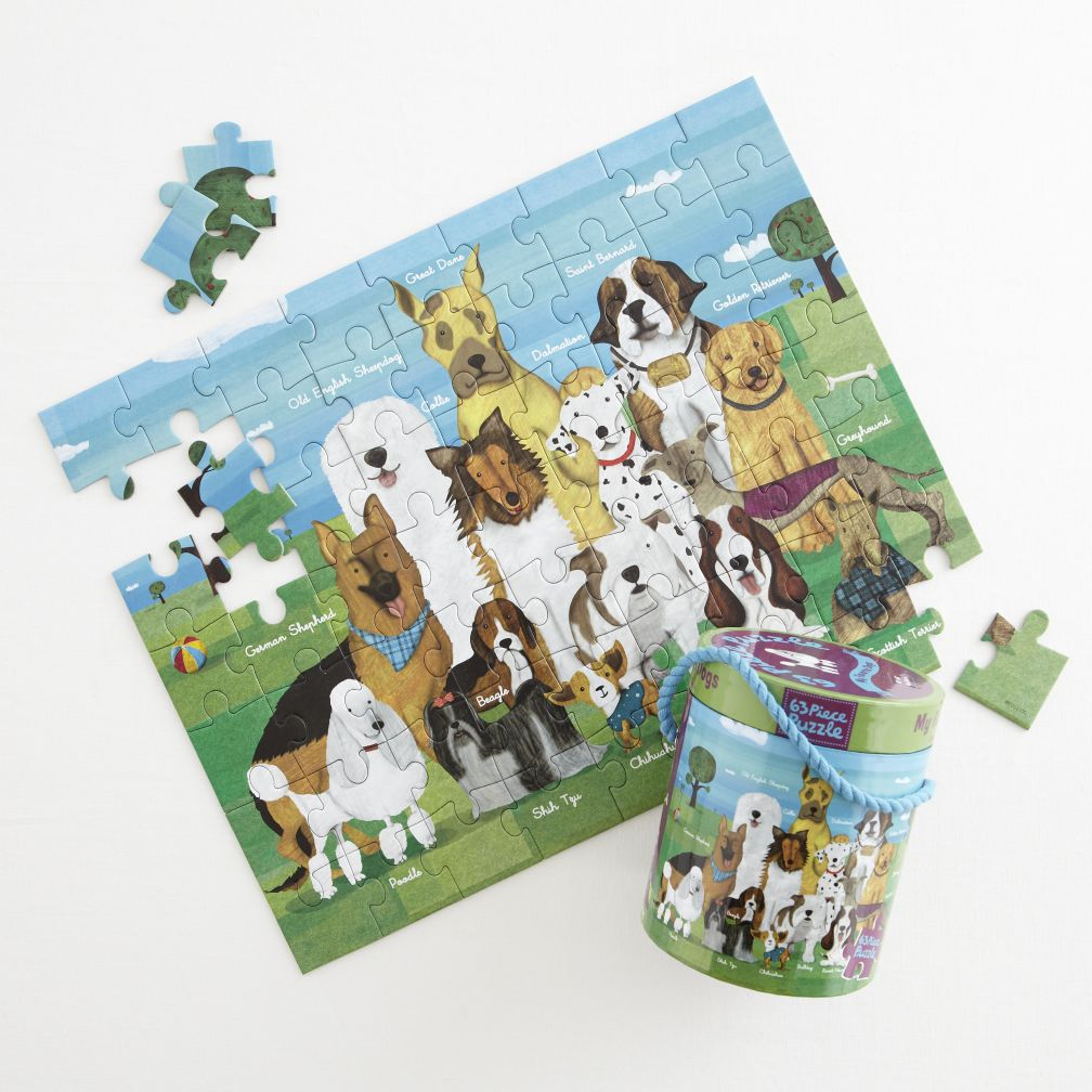 63 Piece Puzzle (Dog)
