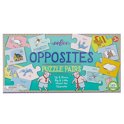 Opposites Word Puzzle Pairs