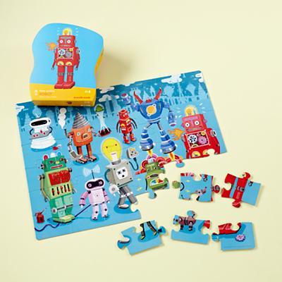 36 Piece Robot Puzzle