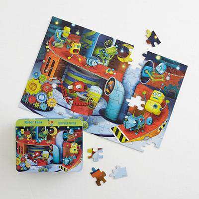 Robot Zone Puzzle