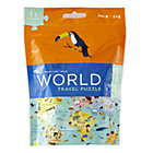 World Travel Puzzle Pouchassembled: 12 x 9""