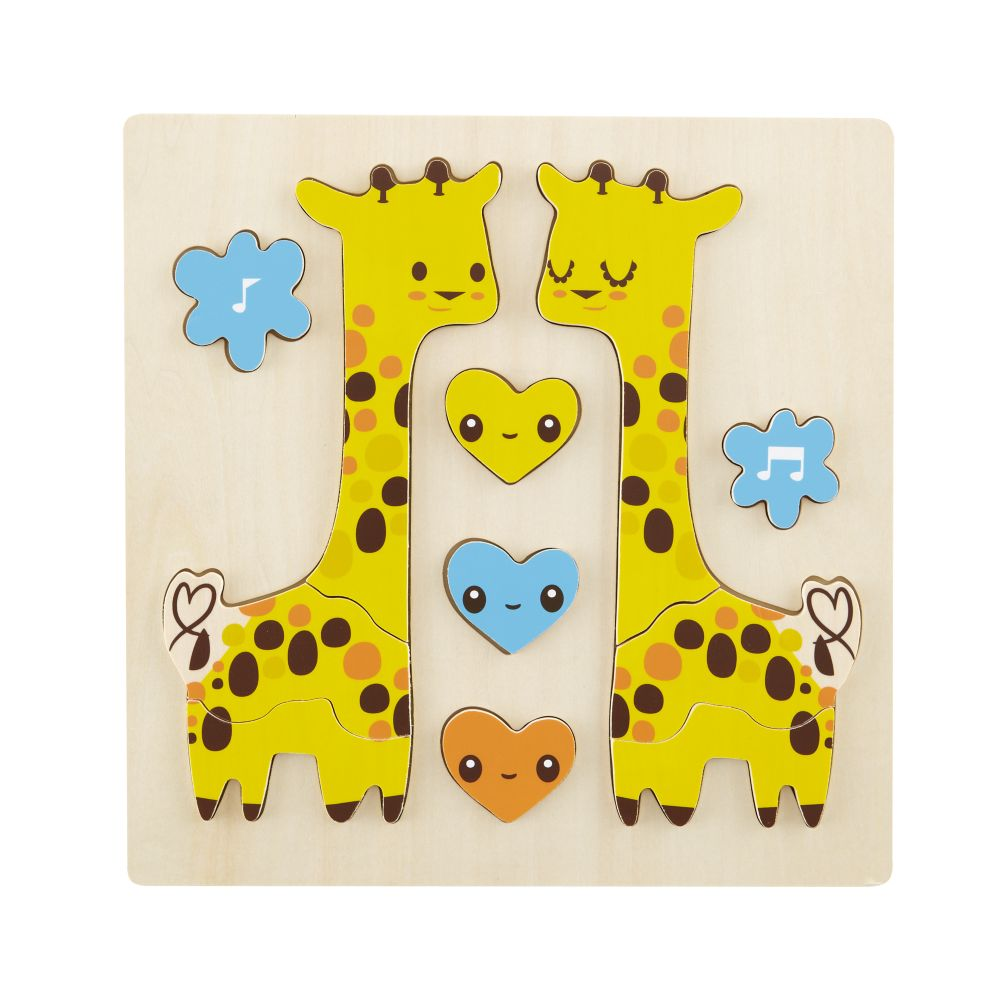 Giraffe Wildlife Party Puzzle