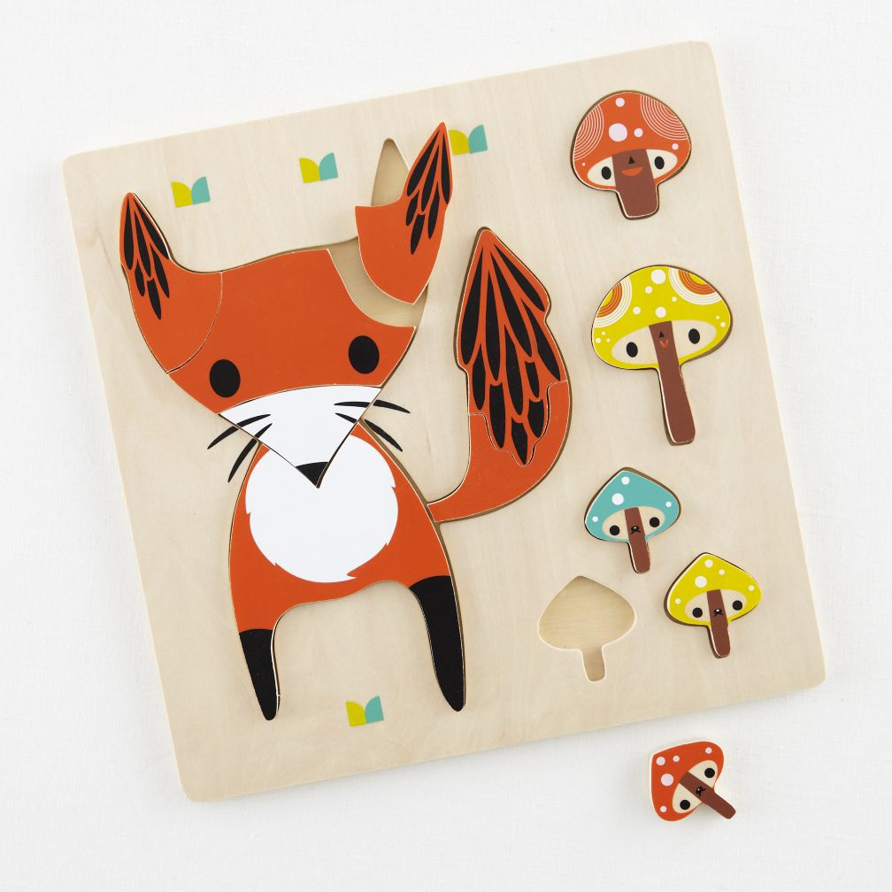 Wildlife of the Party Puzzle (Fox)