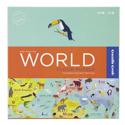 World Boxed Floor Puzzle