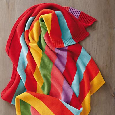 Rainbow ThrowBlanket_Sp2013