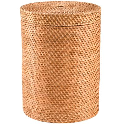 RattanHamperW-Lid