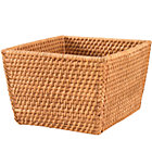 Honey Rattan Shelf Basket