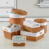 Rattan I Am Storage Collection (Honey)