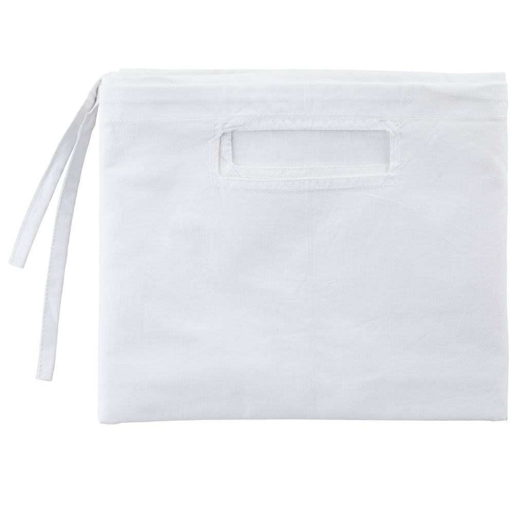 Organic Cube Basket Liner (White)