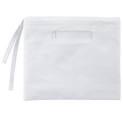 Organic Large Changer Basket Liner (White)